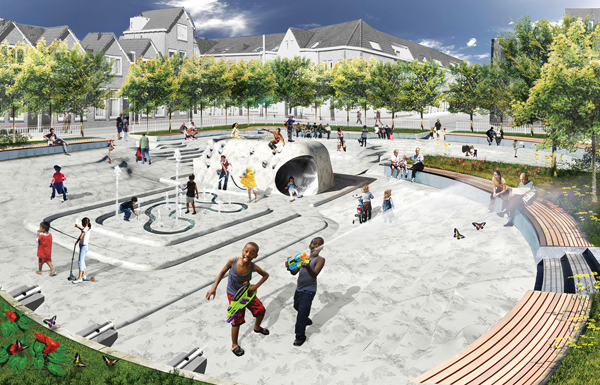 Concept Water Plaza Cr...