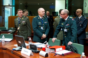 Members of the EU Military Committee during its meeting in October 2012. Credit: Council of the European Union