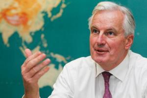 Commission for the Internal Market Michael Barnier, the leader of the Task Force on Defence Industries. Credit: European Commission