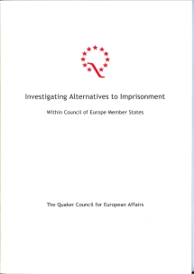 Cover of QCEA Report 'Investigating Alternatives to Imprisonment' (2010)