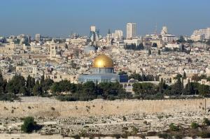View Across Jerusalem Credit: Berthold Werner