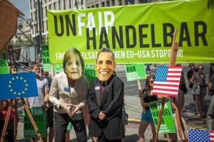 German Anti-TTIP Protest