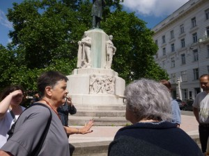 Quakers in Vienna on a peace trail.