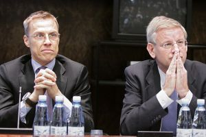 Alexander Stubb and Carl Bildt