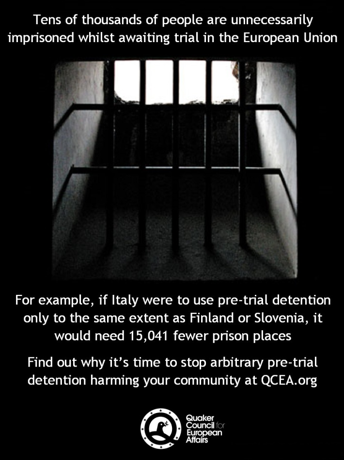 This image was adapted from a photo by Jelle Vancoppenolle.  The cover image of an italian prison is credited to Lendog, Creative Commons.