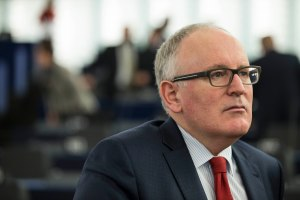 Frans Timmermans. Photo Credit: European Commission Audiovisual services