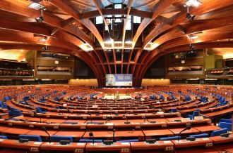 The PACE chamber in Strasbourg