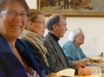 Quaker representatives attending the Peace and Service Consultation