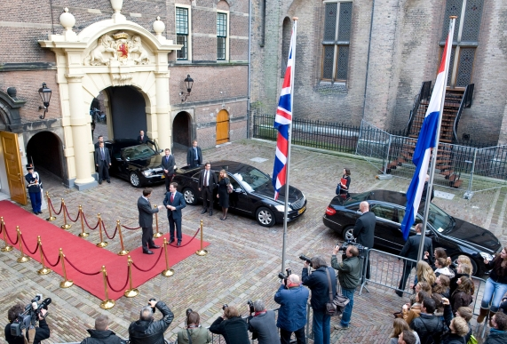 Dutch Prime Minister welcomes UK Deputy Prime Minister to the Hauge in 2014 (Credit: Creative Commons: Wikipedia).