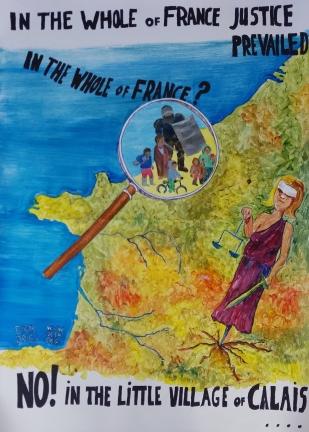 Postcard from Calais